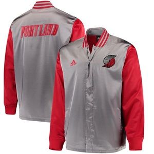 Portland Trail Blazers adidas On-Court Jacket